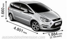 Dimensions Of Ford Cars Showing Length Width And Height