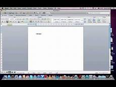introduction to microsoft word 2011 mac word document layout youtube