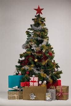 tree with gifts photo free