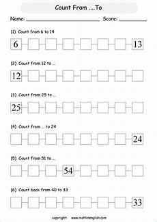 count numbers forward up to 100 math counting worksheet for grade 1 math students