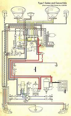 wiring diagram in color 1964 vw bug beetle convertible the samba vw beetle volkswagen