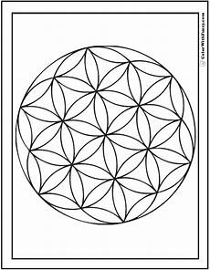 Simple Circle Coloring Pages 70 Geometric Coloring Pages To Print And Customize