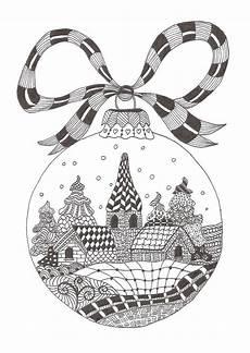 Ausmalbilder Weihnachten Muster Zentangle Vorlagen Weihnachten Kostenlos Inspiration