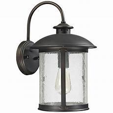 capital glass 15 1 4 quot h bronze outdoor wall light 1h529 lsplus com