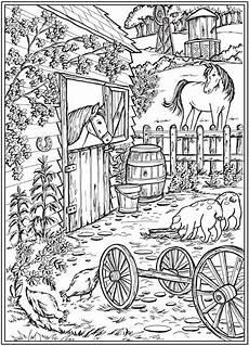 Ausmalvorlagen Bauernhof Willkommen Bei Dover Publications Creative Country