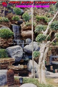 Cara Membuat Taman Air Terjun Minimalis Arsitekhom