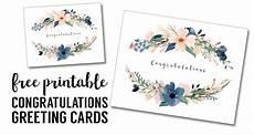 card template free printable congratulations card printable free printable greeting