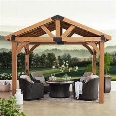 12 x 10 brookdale gazebo backyard discovery