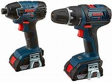 deal of the day bosch 18v drill and impact driver combo