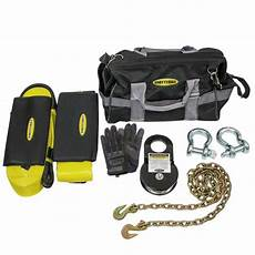 smittybilt premium winch accessory bag kit trs adventure off road products