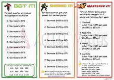 percentages money worksheets ks2 2860 8 of the best percentage increase and decrease teaching resources for ks3 maths