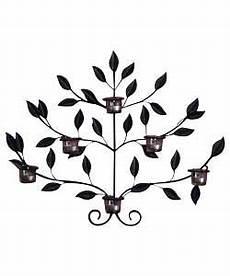 metal leaf 6 tea light holder wall art bedroom tea light holder tea lights home decor