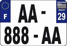nouvelle taille de plaque d immatriculation pour les motos taille unique pour les plaques d immatriculation