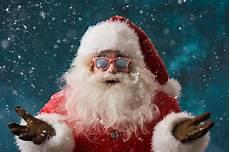 wallpaper new year santa claus