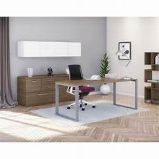 home office furniture canada belair lite suite with desk storage credenza hutch