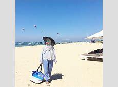 Hijab Fashion Ke Pantai