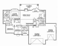 rambler ranch house plans walkout rambler floor plans floor matttroy