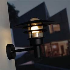 nordlux lonstrup 32 outdoor wall light black