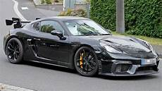 porsche gt4 rs porsche 718 cayman gt4 rs potentially spied testing at the