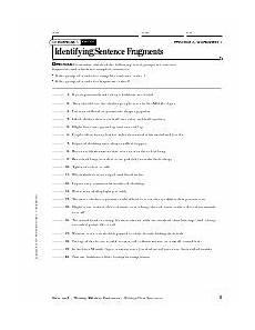 sentence patterns worksheets with answer key pdf 282 completing sentence fragments worksheet englishlinx board sentence fragments