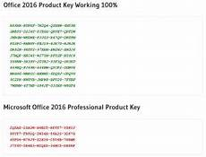 office professional plus 2016 key microsoft office 2016 product key generator 100 working