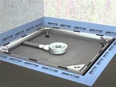 montagefilm betteeinbausystem bodengleiche dusche