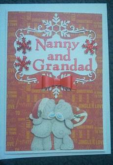 nanny and grandad christmas card with images christmas cards