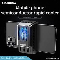 Wireless Cooling Mobile Phone Gaming Radiator by Barrow Mobile Phone Semiconductor Rapid Cooler For Gaming