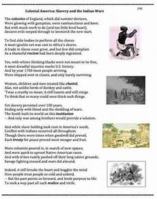 slavery in colonial america 28 poem worksheets puzzle by andy almonte
