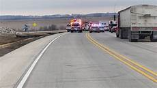 hwy 30 closed one person injured following crash on highway 30 in cedar county