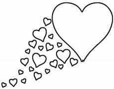 Ausmalbilder Sterne Herzen Herz Mit Schweif Aus Herzen Malvorlage Ausmalbild