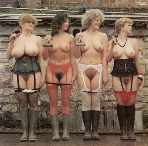 Janine Habeck Nude Outside