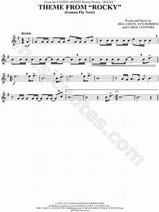 quot theme from rocky quot from rocky sheet music trumpet clarinet saxophone or tenor