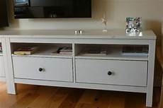ikea hemnes tv stand sideboard in white two in