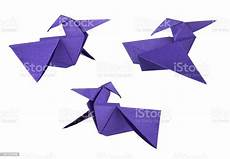 Download Now Origami Paper 500 Colored Origami Paper Pterodactyls Stock Photo Download