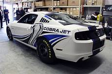 ford racing debuts turbo mustang cobra jet concept w