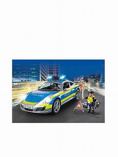 playmobil porsche 911 4s polizei 70067 blau