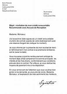 demande de credit cetelem lettre pour annuler un contrat modele de lettre type