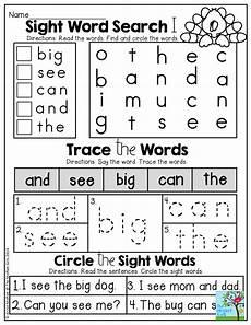 november no prep math and literacy kindergarten teaching sight words sight words words