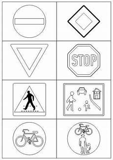Malvorlagen Verkehrsschilder Pdf Verkehrszeichen Verkehrserziehung Erzieherin Tipps