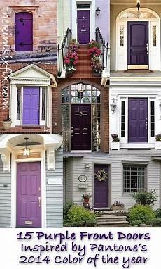 color trend 2014 radiant orchid 15 beautiful exterior doors doors windows facades