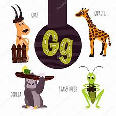Animal Letters Of The Alphabet For The Development And