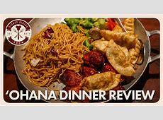 'Ohana Dinner Review   Disney Dining Show   05/11/18   YouTube