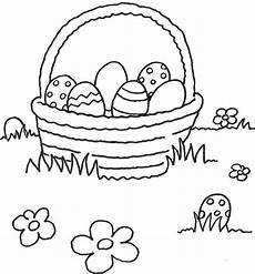 Kostenlose Malvorlagen Zum Ausdrucken Ostern Kostenlose Malvorlage Ostern Korb Mit Ostereiern Zum