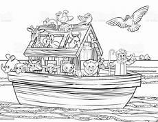 Malvorlagen Arche Noah Ausdrucken Noahs Ark Stock Illustration Image Now Istock