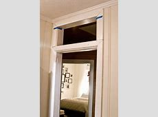 How to add a transom above an existing door frame.   For