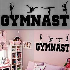 gymnast wall decal gymnast wall sticker room