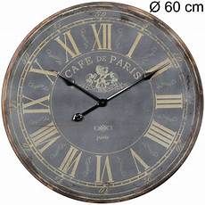vintage wanduhr 60 cm holz uhr gro 223 dekouhr