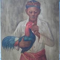 Gambar Lukisan Orang Merokok Paimin Gambar