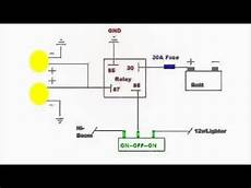Auxiliary Lighting Wiring Diagram